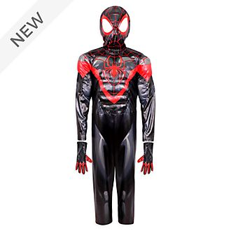 Disney Store Miles Morales Costume For Kids, Spider-Man
