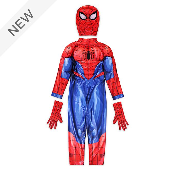 Disney Store Spider-Man Costume For Kids