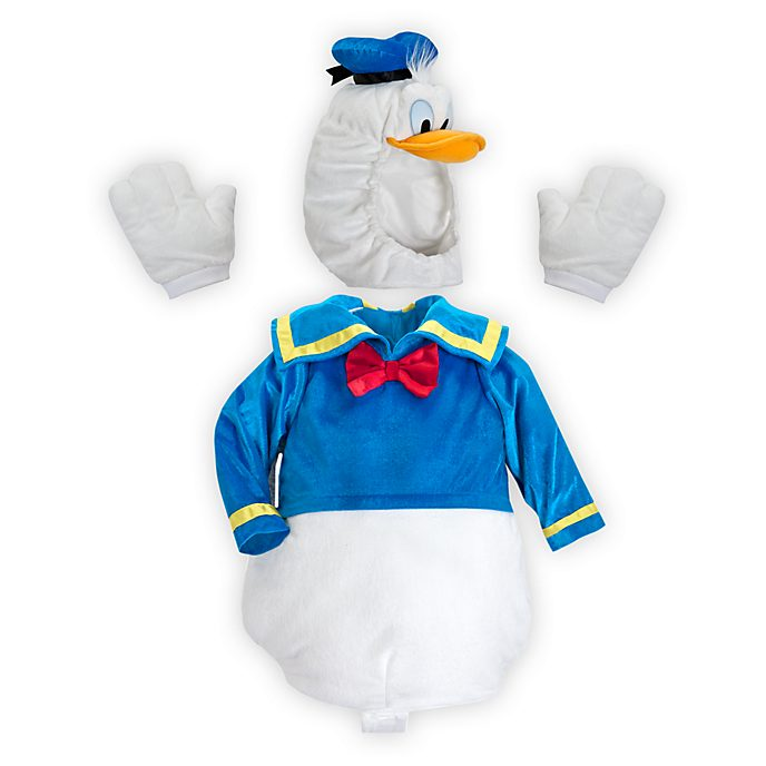 Disney Store Donald Duck Baby Costume Body Suit
