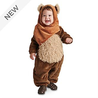 Disney Store Ewok Baby Costume Bodysuit