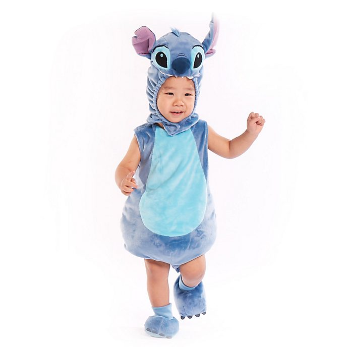 Disney Store Stitch Baby Costume Body Suit Set