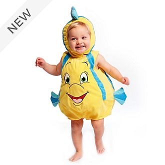 Disney Store Flounder Baby Costume Body Suit