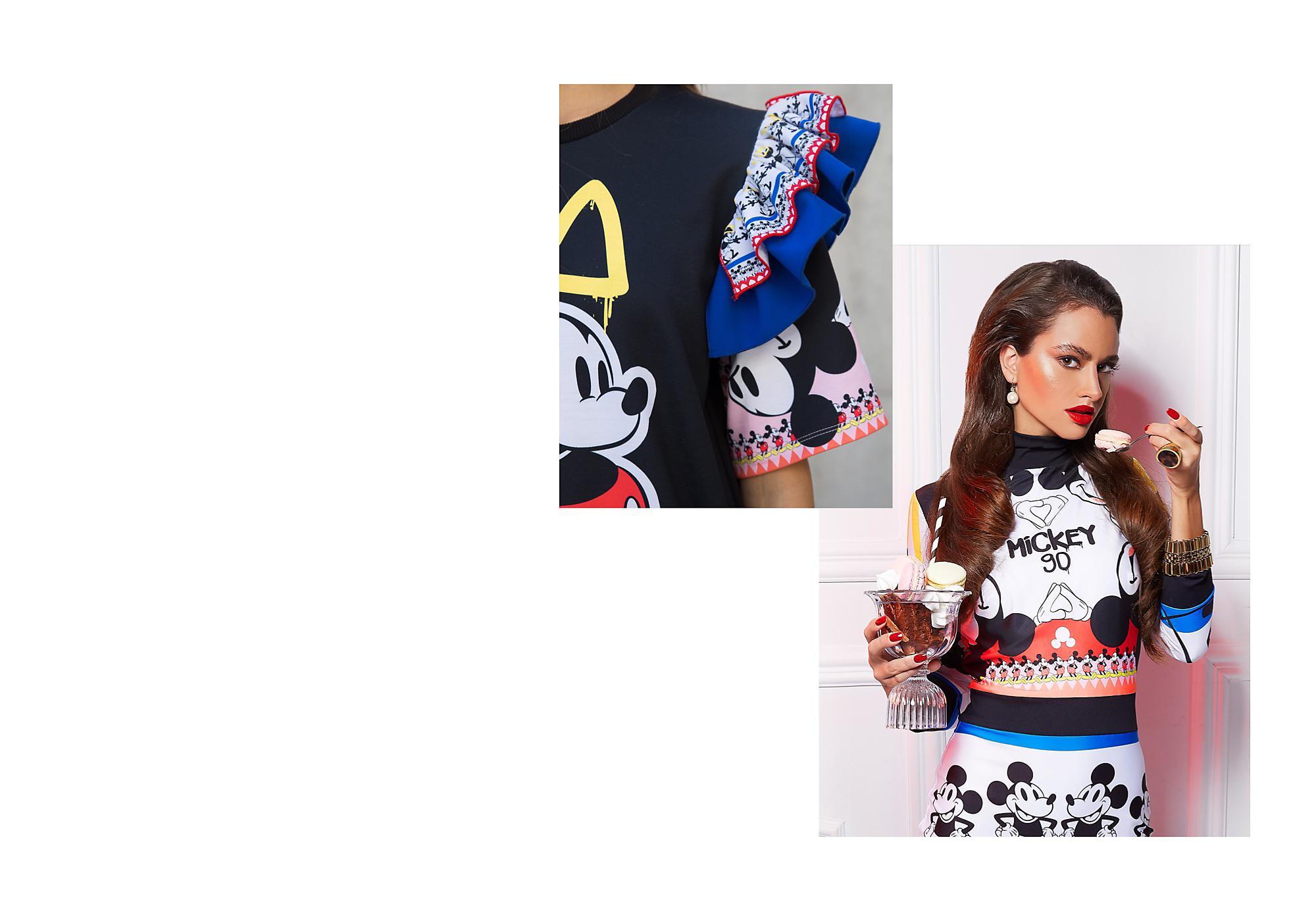 Moda nueva e innovadora ¡La marca de moda húngara Sugarbird se ha unido a Disney para celebrar el 90 aniversario de Mickey!