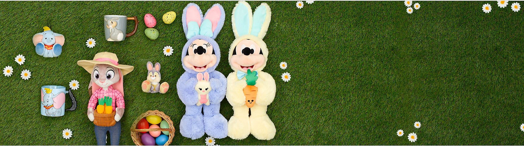 Happy Easter! Treat yourself this Easter with an array of soft toys and mugs