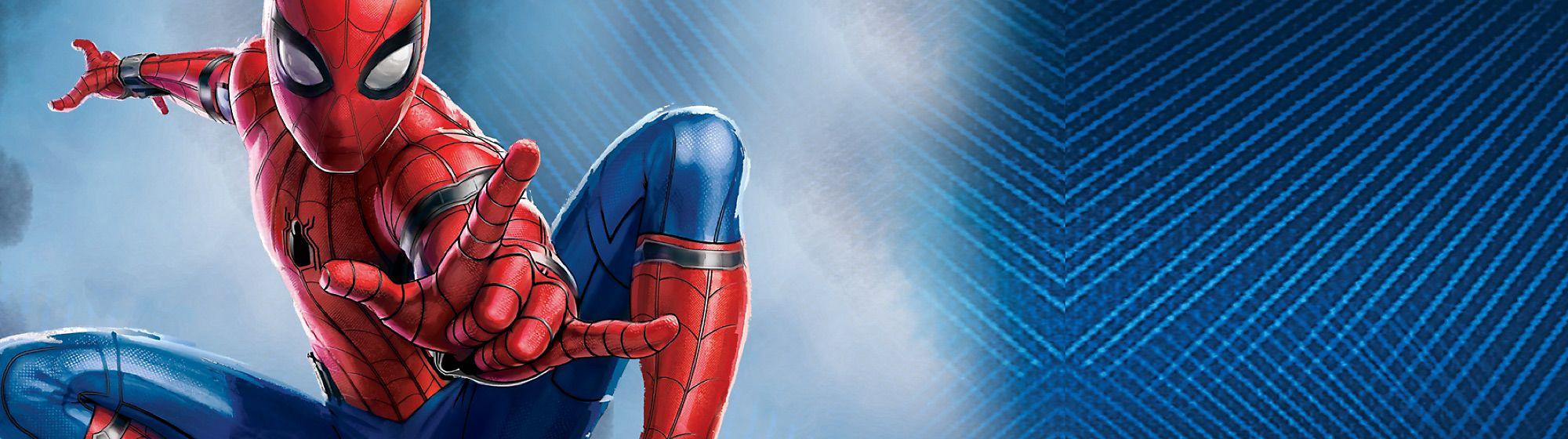 Spider-Man: Far From Home Scopri la collezione di giochi, costumi, abbigliamento e molto ancora.