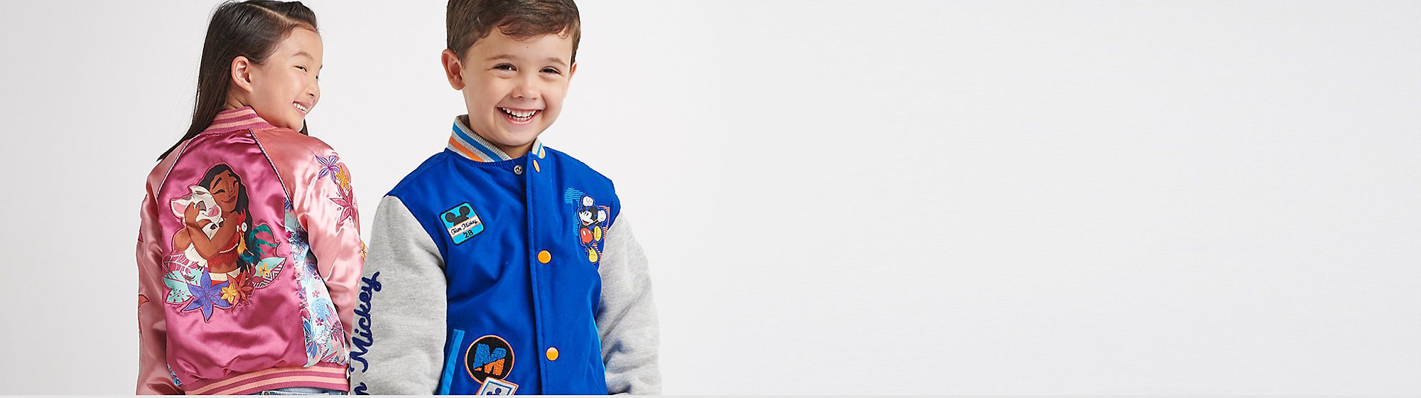 Boys' Coats and Jackets Let little ones stay snug in style with our range of outerwear
