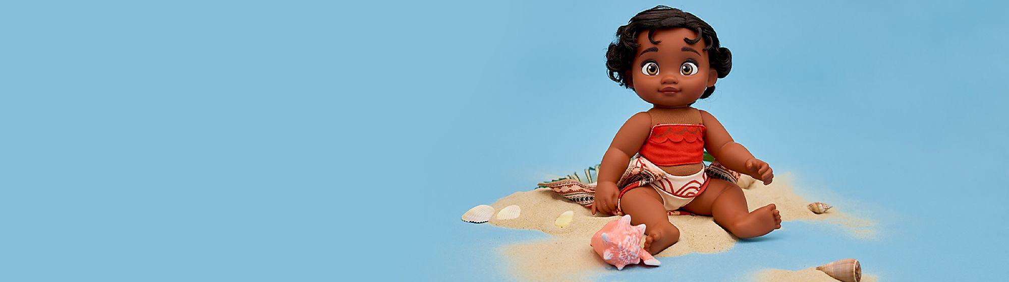 Muñecas Crea la mejor historia jugando con las muñecas de tus personajes favoritos. Descubre la tuya, y ¡diviértete jugando!