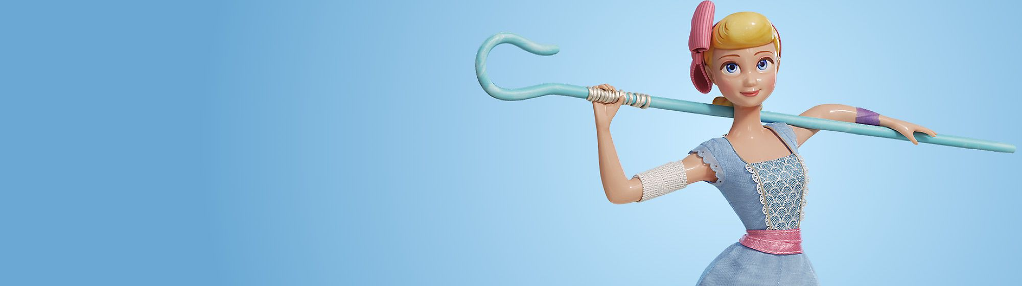 Bo Peep Get ready to join the adventure with our Bo Peep toys, costumes, accessories and more