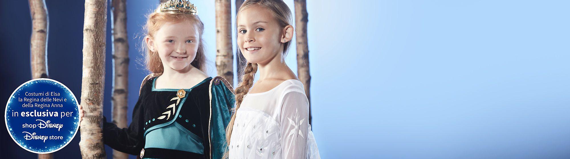 Costumi di Frozen 2 Scopri i nostri costumi magici di Arendelle