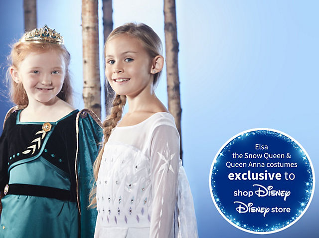 Frozen 2 Fancy Dress Discover our magical costumes from Arendelle