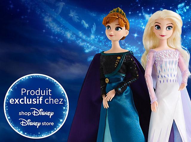 Jouets La Reine des Neiges Passez des heures de jeu avec nos nouveautés : sets de jeu, peluches, figurines... VOIR LA COLLECTION