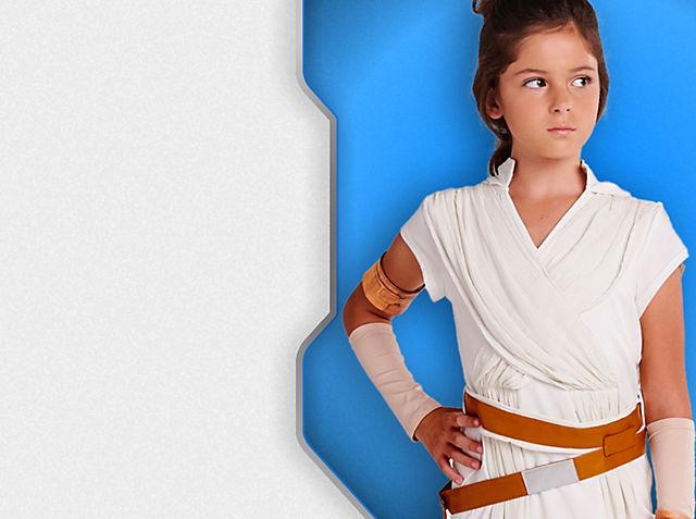 Costumi approvati dai Cavalieri Jedi Non perderti questi costumi epici della collezione ispirata a Star Wars Scopri di più