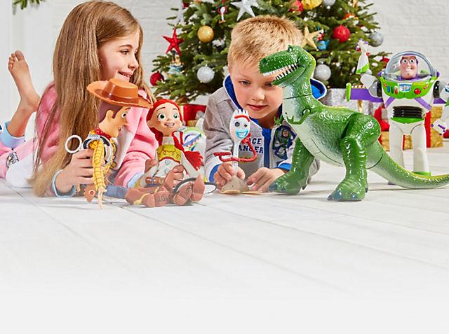 Figuras de acción parlantes de Toy Story 4 El regalo perfecto para los pequeños aventureros - Solo por 30€ COMPRAR