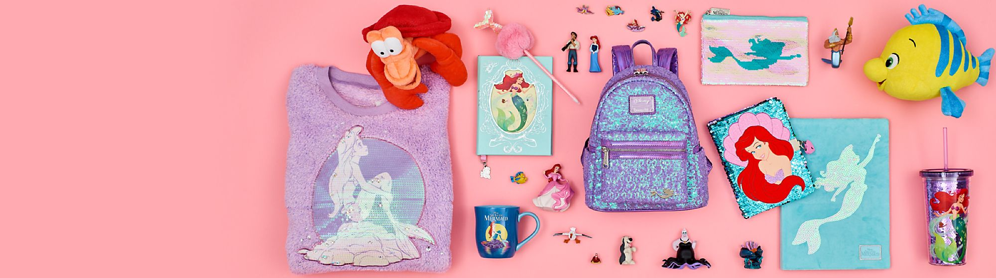 The Little Mermaid Celebrating 30 years with our collection of toys,