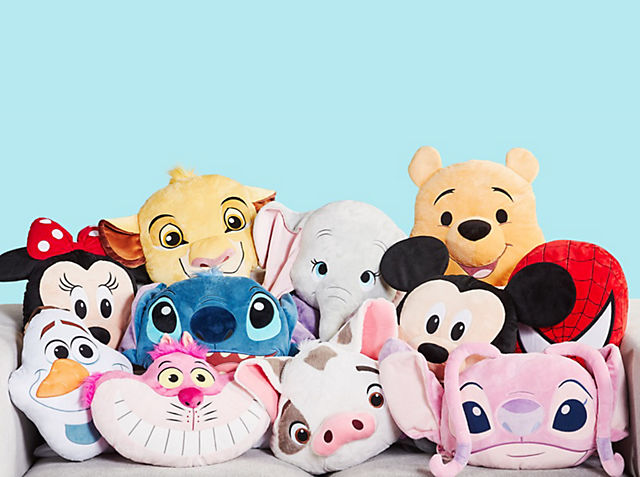 Kissen Entdecke unsere riesige Auswahl von Kissen mit einigen deiner Lieblingsfiguren von Disney wie Micky Maus und Stitch. JETZT KAUFEN