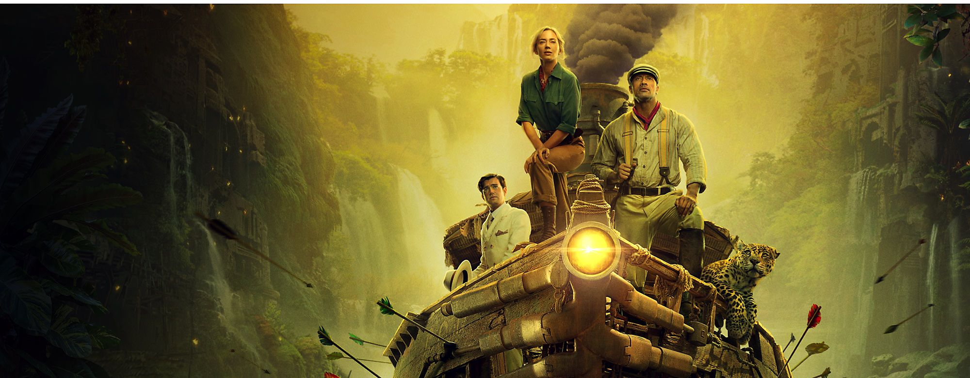 Set during the early 20th century, a scientist and her brother team up with a riverboat captain on an expedition down the Amazon River. Based on the Disneyland attraction - also called Jungle Cruise - the upcoming film follows the trio as they evade a competing German expedition and search for a tree with miraculous healing properties.