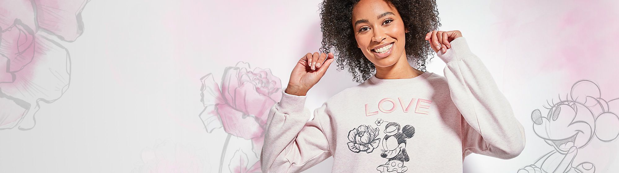 Positively Minnie Let your style bloom with a collection that's sure to inspire floral fashion moments