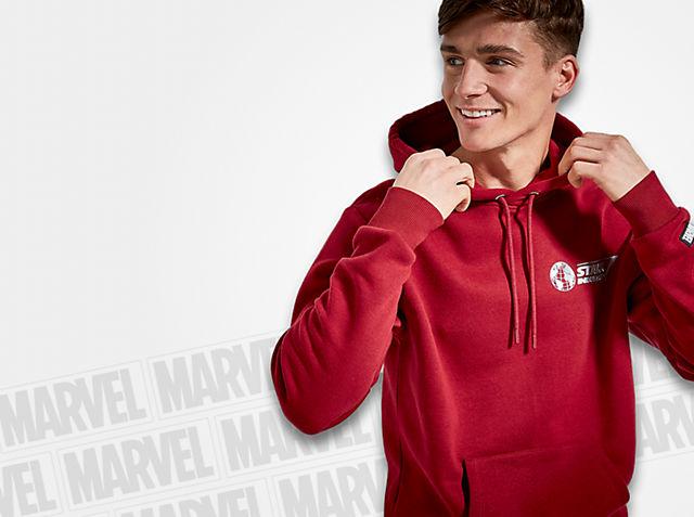 Para héroes fuera de servicio Viste el estilo de Industrias Stark con nuestra épica colección COMPRAR
