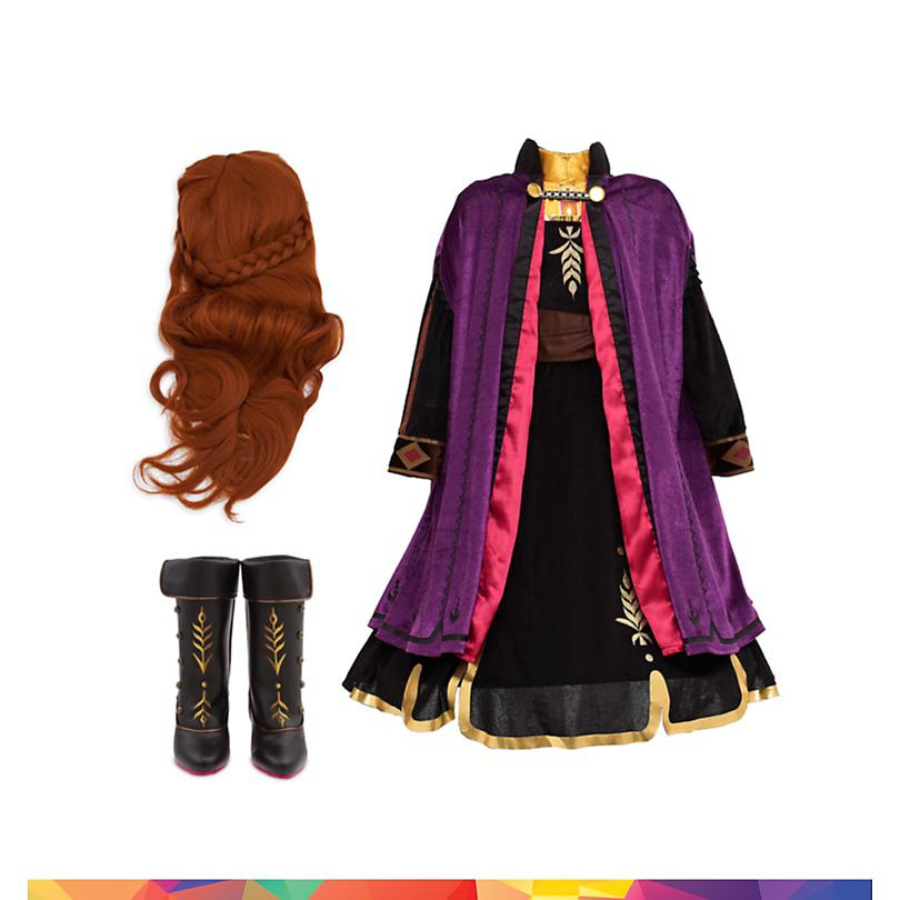 Conjunto disfraz infantil Anna, Frozen 2, Disney Store  COMPRAR