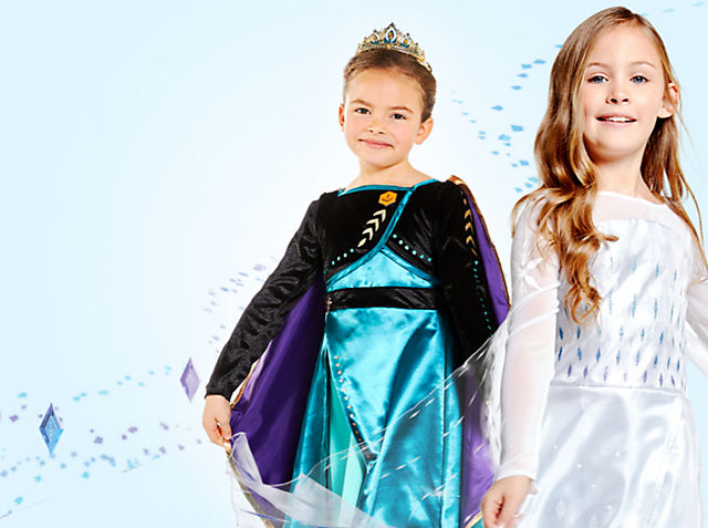 Let little ones head into Arendelle and beyond with our costumes, shoes and more SHOP COSTUMES