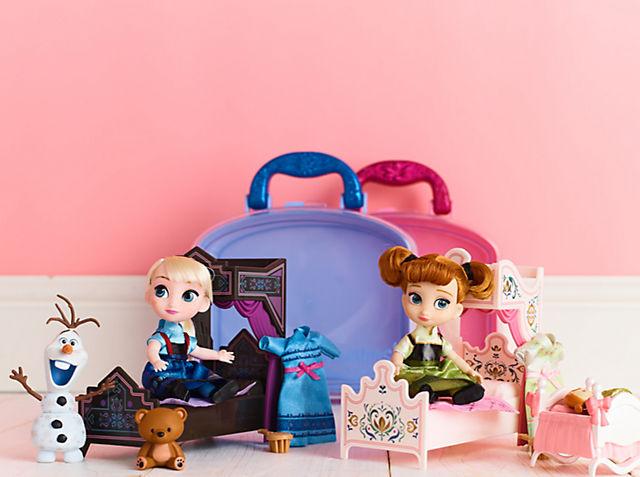 Giochi di Frozen 2 Scopri la nostra gamma di giocattoli tra cui set da gioco, peluche, statuette e altro ancora ACQUISTA ORA