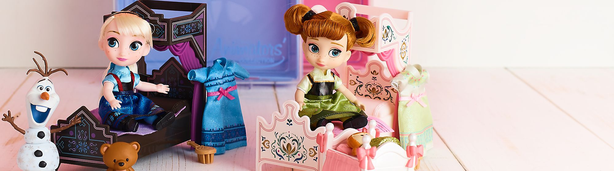 Frozen 2 Toys Discover our range of toys including playsets, soft toys,