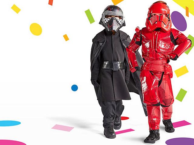 Prêts pour le Carnaval ? La boutique officielle des déguisements Disney pour le Carnaval Découvrez notre collection exclusive et tenez-vous prêts pour le Carnaval ! VOIR LA COLLECTION