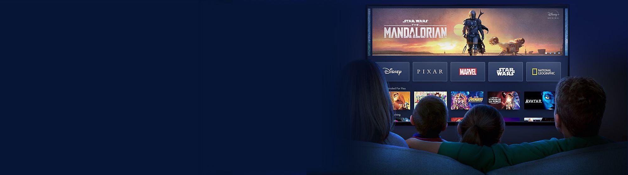 Produits Disney+ Le compte à rebours est lancé ! Votre nouveau service de streaming dès le 24 mars. 6,99€ par mois ou 69,99€ pour un an. EN SAVOIR PLUS