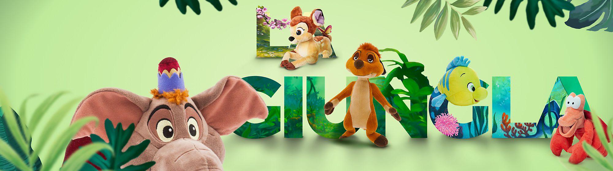 Tutti gli animali Ti presentiamo un'incredibile collezione ispirata alle creature Disney più amate