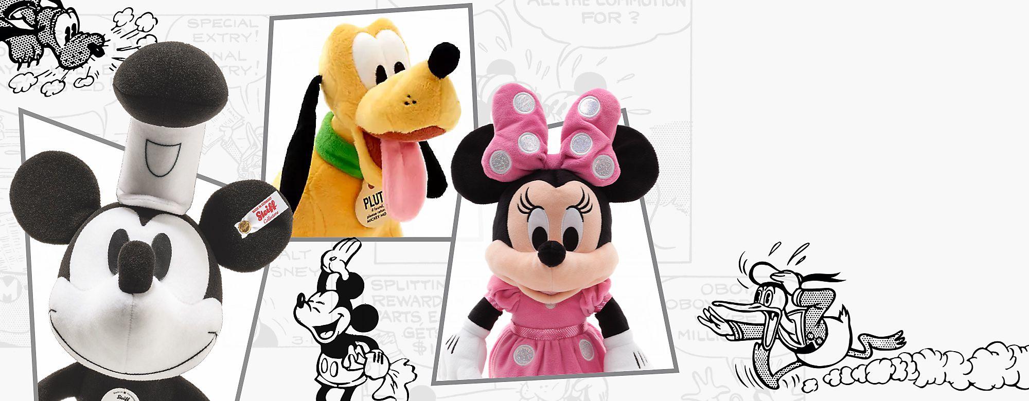 Mickey Mouse y sus amigos Diviértete con todos los productos de los personajes de 'Mickey Mouse y sus amigos', y hazte con tus favoritos.