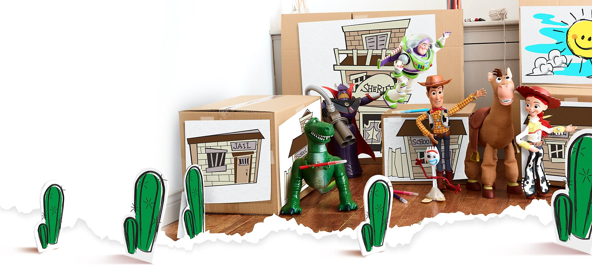 To Infinity and Beyond Join the adventure and explore our collection of toys, costumes and more