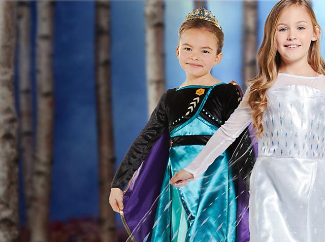 Déguisements La Reine des Neiges 2 Découvrez les nouvelles robes venue spécialement d'Arendelle VOIR LES DÉGUISEMENTS