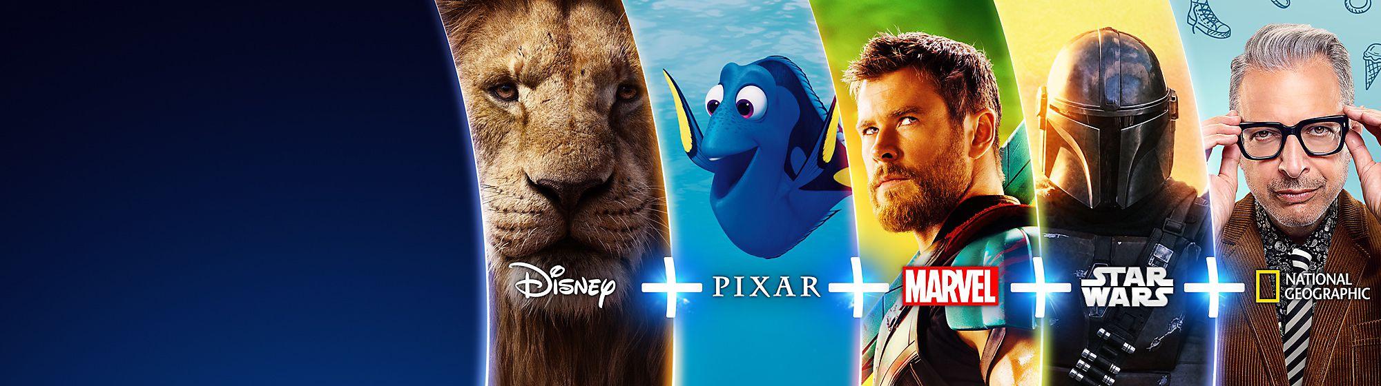 Disney+ Sortiment Die besten Geschichten, alle an einem Ort. JETZT STREAMEN