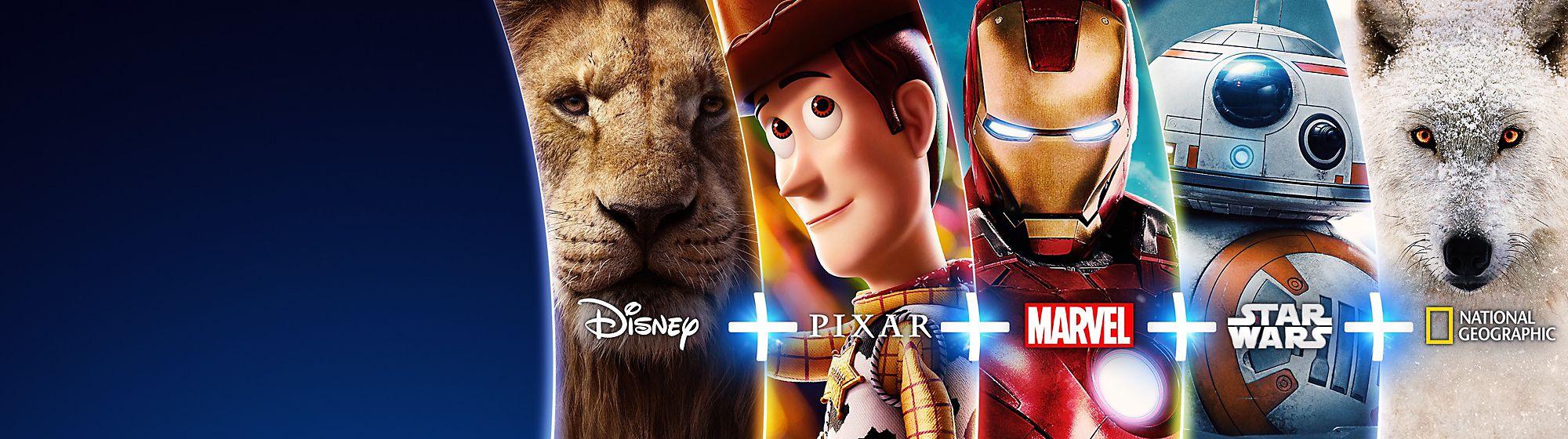 Productos Disney+ Tus historias favoritas en un mismo lugar. VER AHORA