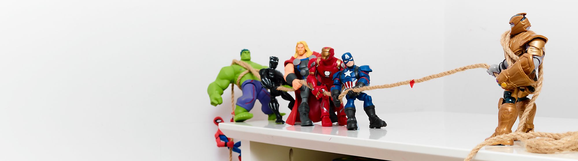 Action Figures It's time for an adventure! Explore our range of Disney, Pixar, Star Wars and Marvel action figures