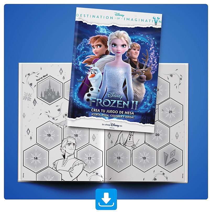 Juego de Mesa de Frozen