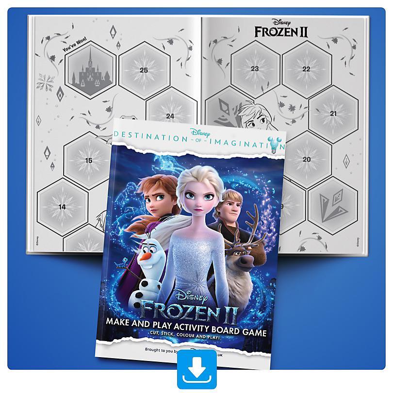 Homemade Frozen Board Game