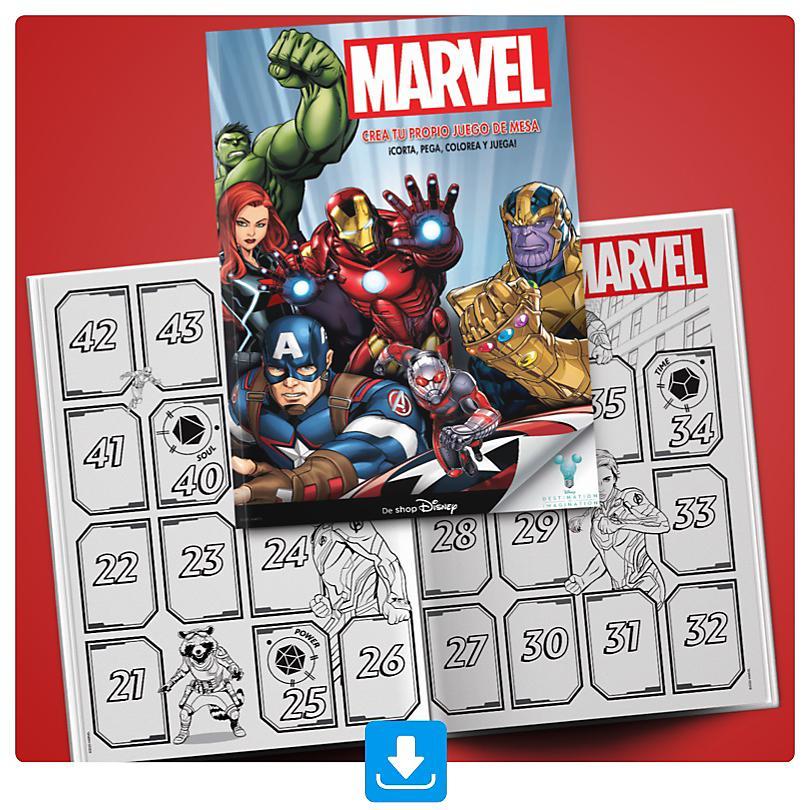 Juego de Mesa de Marvel