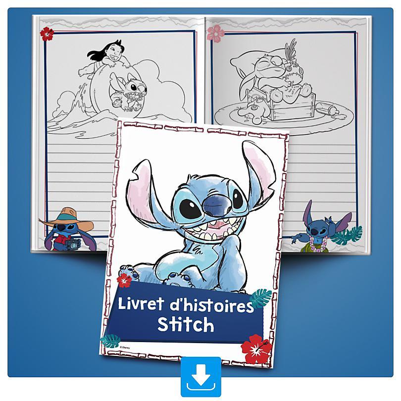 Livret d'histoires Stitch