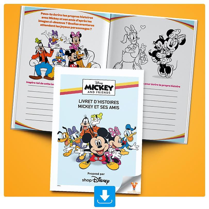 Livret d'histoires Mickey et ses amis