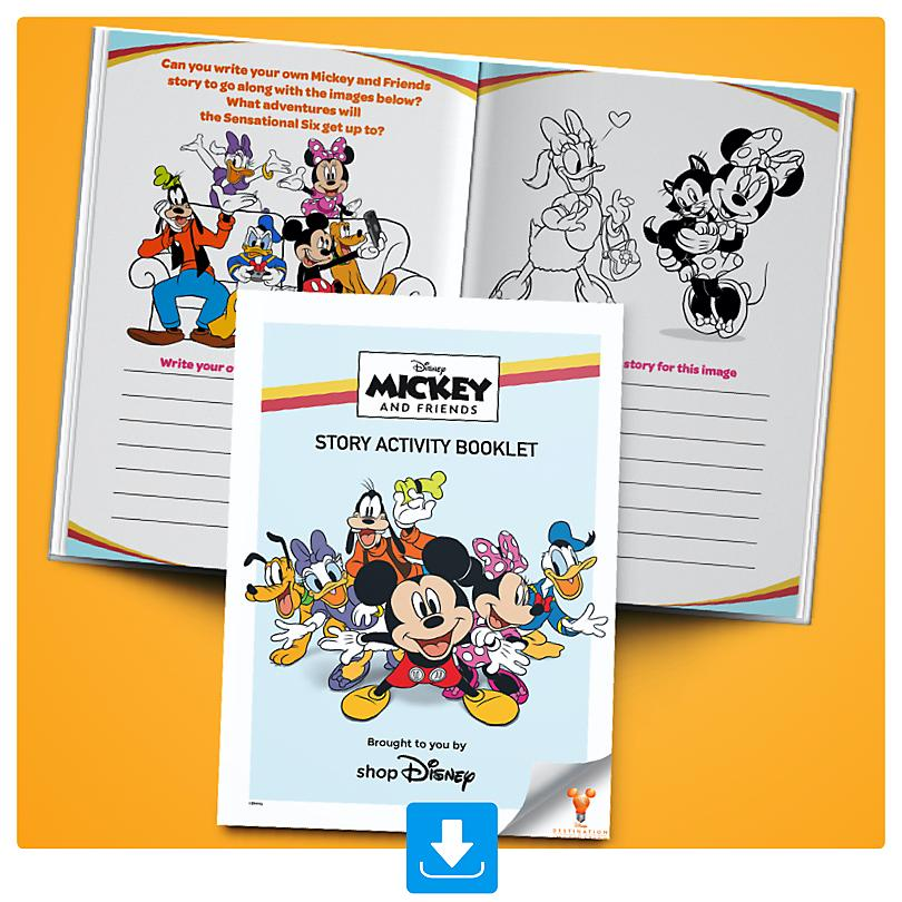 Mickey and Friends Story Activity Booklet