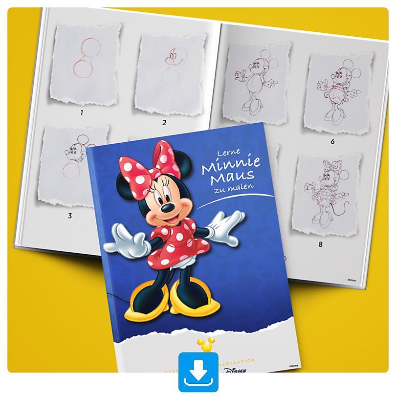 Lerne Minnie Maus zu malen