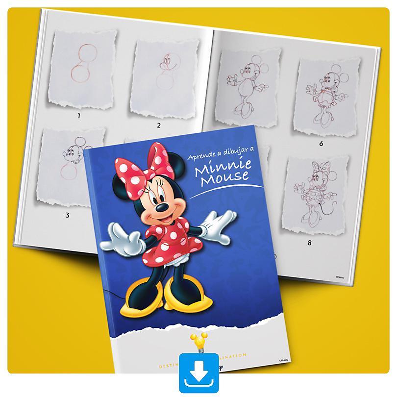Aprende a dibujar a Minnie Mouse