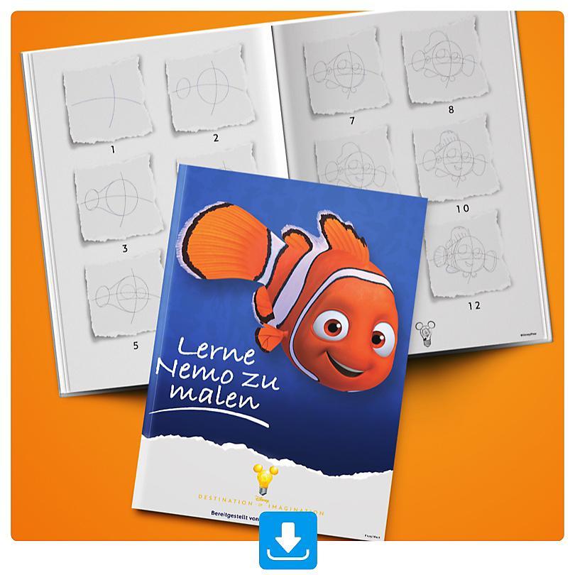 Lerne Nemo zu malen