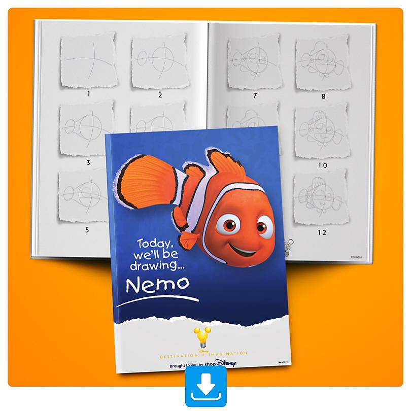 Learn how to draw Nemo