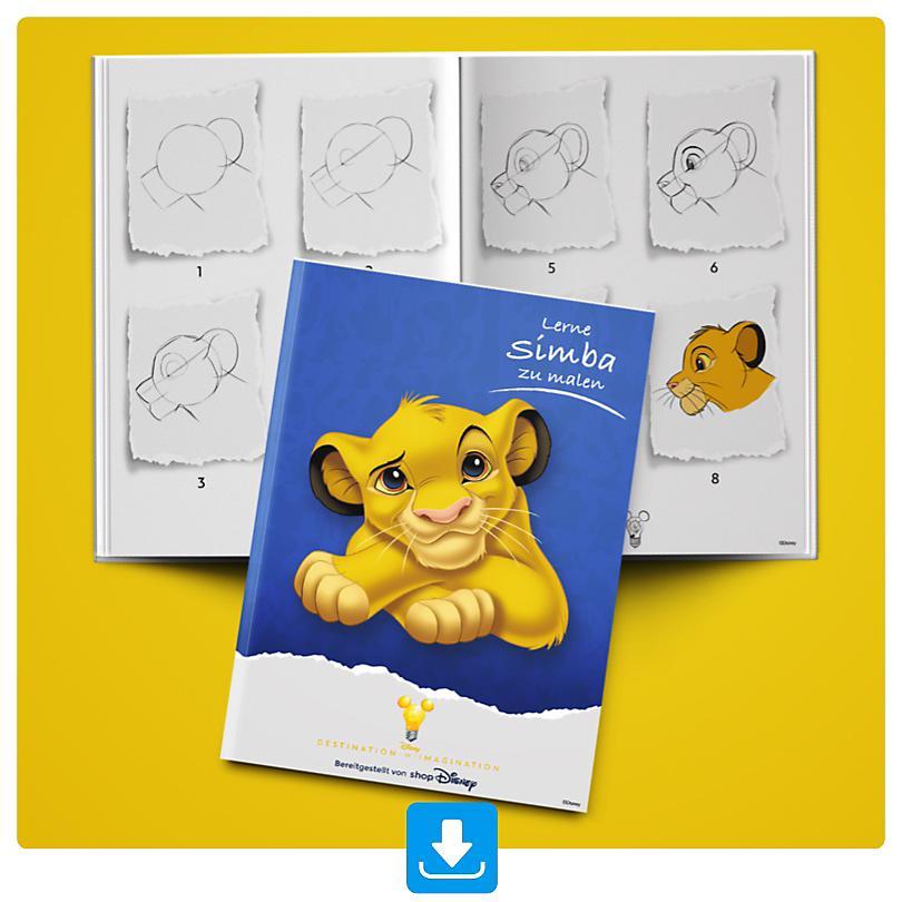 Lerne Simba zu malen