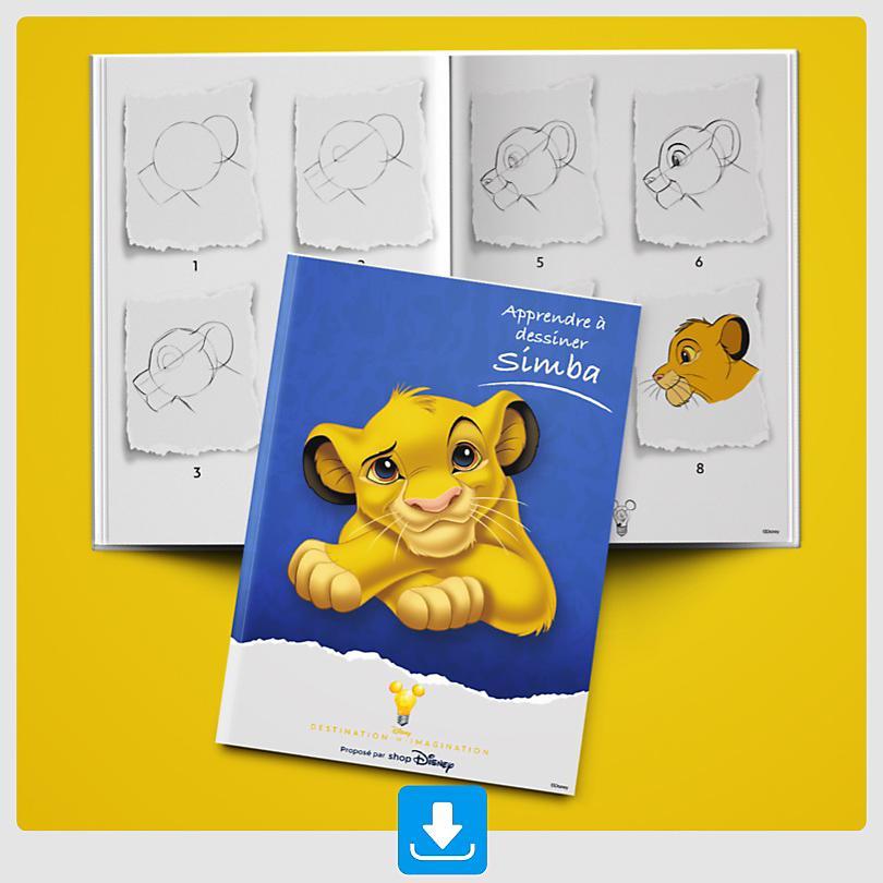 Apprendre à dessiner Simba