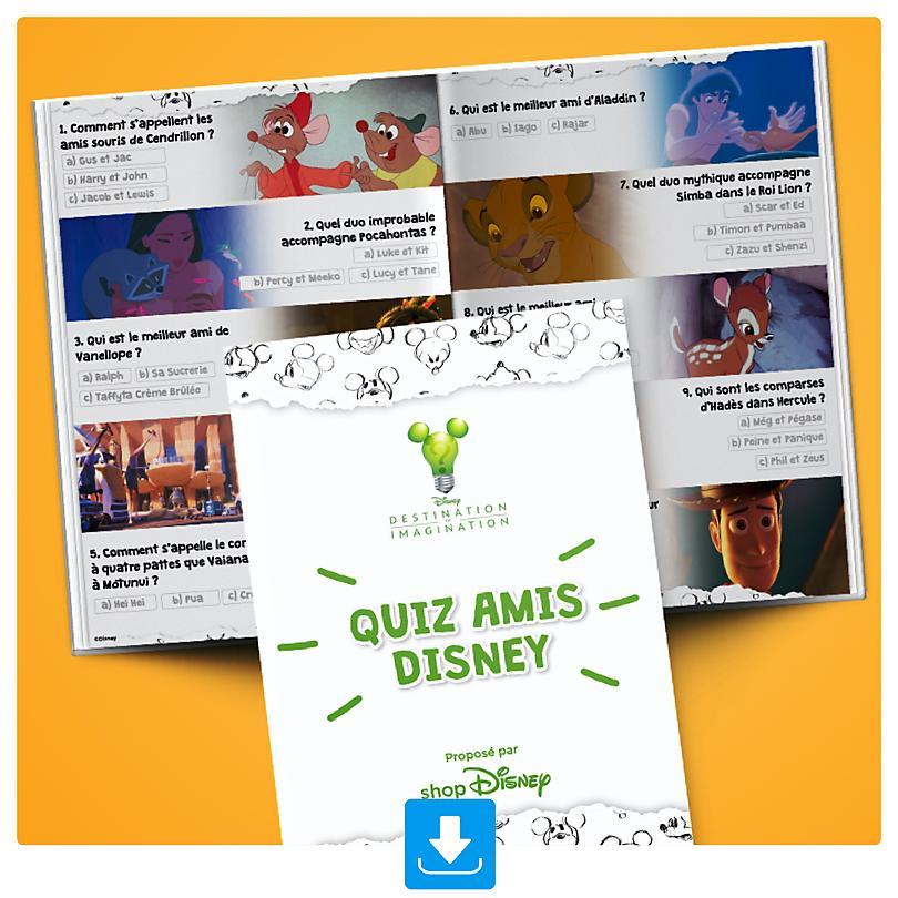 Quiz d'Amitié Disney