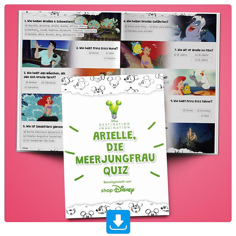 Arielle, die Meerjungfrau Quiz