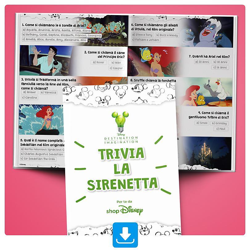 Trivia La Sirenetta